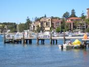 Double Bay ferry wharf