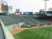 Fenway Park center field, Boston, Massachusetts, USA