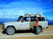 Land Cruiser ride in  Tibetian Plateau  for 12 days