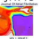 English: Cover page of Journal of Atrial Fibrillation