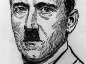 Adolf Hitler, head-and-shoulders portrait, facing slightly left