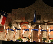 Dallas Cowboys Cheerleaders.