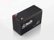 English: 12V 7.0Ah Lead-acid Battery.