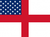 A hybrid flag representing Anglo-America and Anglo-Americans.