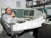 Photo of Bjarne Stroustrup, creator of the programming language C++.