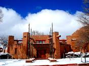 English: Navajo Nation Council Chambers, Window Rock, AZ Category:Navajo Nation Category:National Historic Landmarks in Arizona Diné bizaad: Naabeehó biWááshindoon: Béésh bąąh dah si'ání ya'anájáa'gi bikin éélkid. Tségháhoodzáníidi bikin naazniil.