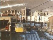 English: Vail Village, Vail Ski Resort in 1983.
