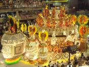 Carnival in Rio de Janeiro. Deutsch: Karneval in Rio de Janeiro.
