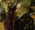 English: Detail of F. M. Brown,
