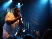 Biz Markie performing at the Club Amager Bio in Copenhagen, Denmark on 25 October 2007.
