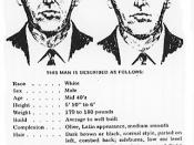 FBI wanted poster for D. B. Cooper