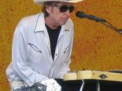 English: Photo from Bob Dylan's April 28, 2006 concert appearance at the New Orleans Jazz and Heritage Festival (aka