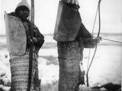 Late lamellar armour worn by native Siberians and Eskimos