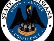 English: 2010 Great Seal of the State of Louisiana Français : Sceau 2010 de l'État de Louisiane