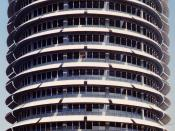 The Capitol Records Building known as