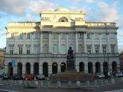 English: Warsaw Scientific Society, Polish Academy of Sciences Former Staszic Palace Author: Daniel Matysiak (http://gallery.vegalabs.net)