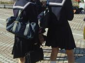 Japanese school uniform, Yohohama, Japan