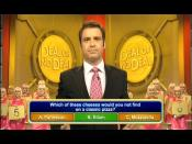 Multiple choice questions being asked on Deal or No Deal, 2006.