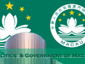 English: Macau Politics and Government Pic.