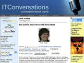 My Interview With Jon Udell on IT Conversations