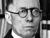 English: Johannes Vilhelm Jensen, Nobel laureate in Literature 1944 Deutsch: Johannes Vilhelm Jensen, Nobelpreisträger für Literatur 1944