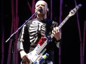 The musician Flea
