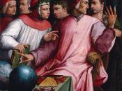 Boccaccio, Dante, Petrarca etc.