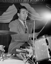 Gene Krupa, 400 Restaurant, New York, N.Y.