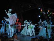 English: Dancers at the Tropicana Club, Havana, Cuba