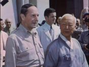 Syngman Rhee and Douglas MacArthur, 1948.08.15