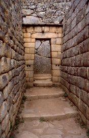 es: Machu Picchu (Perú). Palacio del Inca. Zona Residencial. en: Machu Picchu, Perú. Inca Palace at Residential area.
