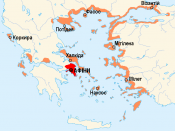 English: First Athenian League at 431 BC (ukrainian)