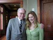 with Warren Buffett