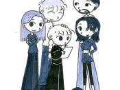 Sarah Xmas 06 family sketch