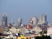 English: Cement Factory (CEMEX) Monterrey México Español: CEMEX Fábrica de Cemento en Monterrey México.
