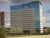 English: Offices of Cemex in Houston Español: Oficinas de Cemex en Houston