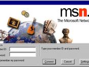 MSN Classic sign-in screen