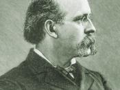 Terence Powderly, Grand Master Workman of the Knights of Labor during its meteoric rise and precipitous decline.