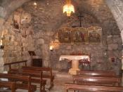 St Ananias Church in the Christian section of Bab Touma in Old Damascus