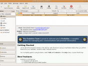 Evolution 2.12.0 personal information manager