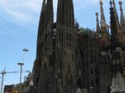 English: Sagrada Familia by Antonio Gaudí, Barcelona, Spain Česky: Chrám Sagrada Familia od Antonia Gaudího, Barcelona, Španělsko