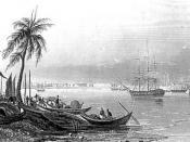English: Calcutta in 1852.
