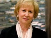 English: Former Canadian Prime Minister Kim Campbell