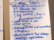 Flipchart #2 Open Space - ACMP 2012 - Assn. for Change Management Practitioners