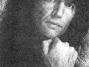 Stern in 1992 promoting his interview series The Howard Stern
