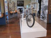 Bruce Castle Museum - J.A.P. motorcycle