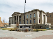 Colorado Springs, Colorado City Hall.