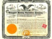 Honeywell Heating Specialties Company Stock Certificate dated 1924 signed by Mark C. Honeywell