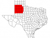 Counties of the South Plains