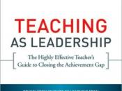 Teaching As Leadership